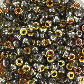 Extra foto's miyuki rocailles 8/0 - Czech coating crystal marea