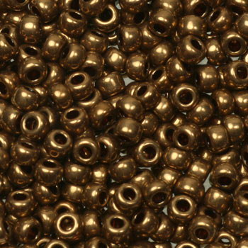 Extra foto's miyuki rocailles 8/0 - metallic light bronze