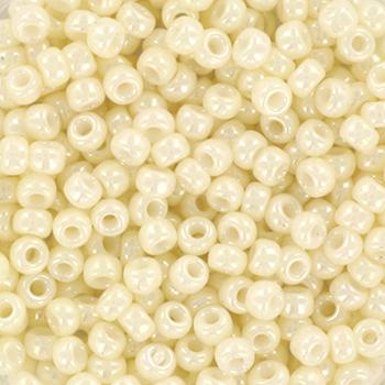 Extra foto's miyuki rocailles 8/0 - ceylon cream