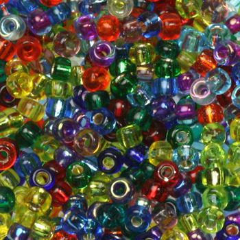 Extra pictures miyuki seed beads 8/0 - mix rainbow
