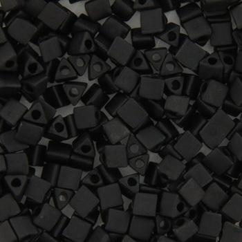 Extra foto's miyuki sharp triangle 8/0 - matte black
