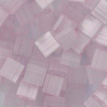Extra foto's miyuki tila 5x5 mm - silk satin pale rose
