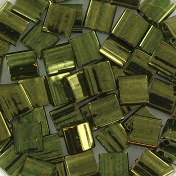 Extra foto's miyuki tila 5x5 mm - olive gold luster