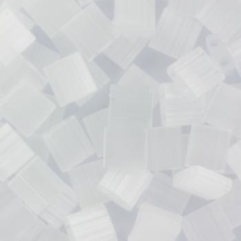 Extra foto's miyuki tila 5x5 mm - silk satin crystal