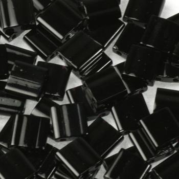 Extra foto's miyuki tila 5x5 mm - opaque black