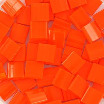 Extra foto's miyuki tila 5x5 mm - opaque orange