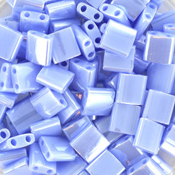 Extra foto's miyuki tila 5x5 mm - opaque luster light periwinkle