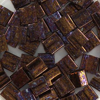 Extra foto's miyuki tila 5x5 mm - metallic iris dark raspberry
