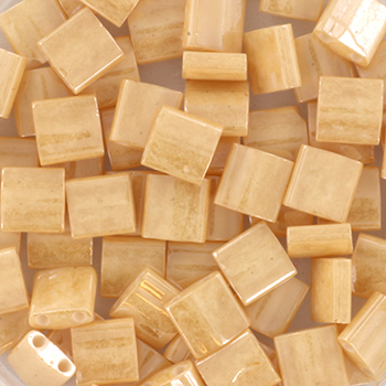 Extra foto's miyuki tila 5x5 mm - ceylon light caramel