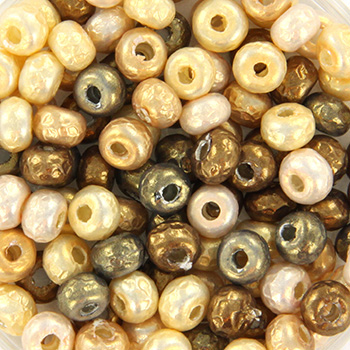 Extra pictures miyuki seed beads 6/0 - mix baroque